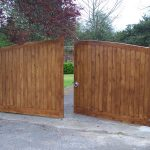 wooden gates designs