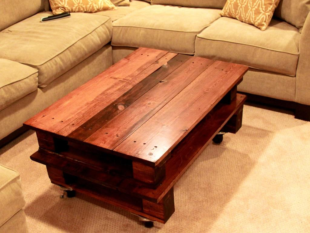 Image of: Bamboo Coffee Table Diy