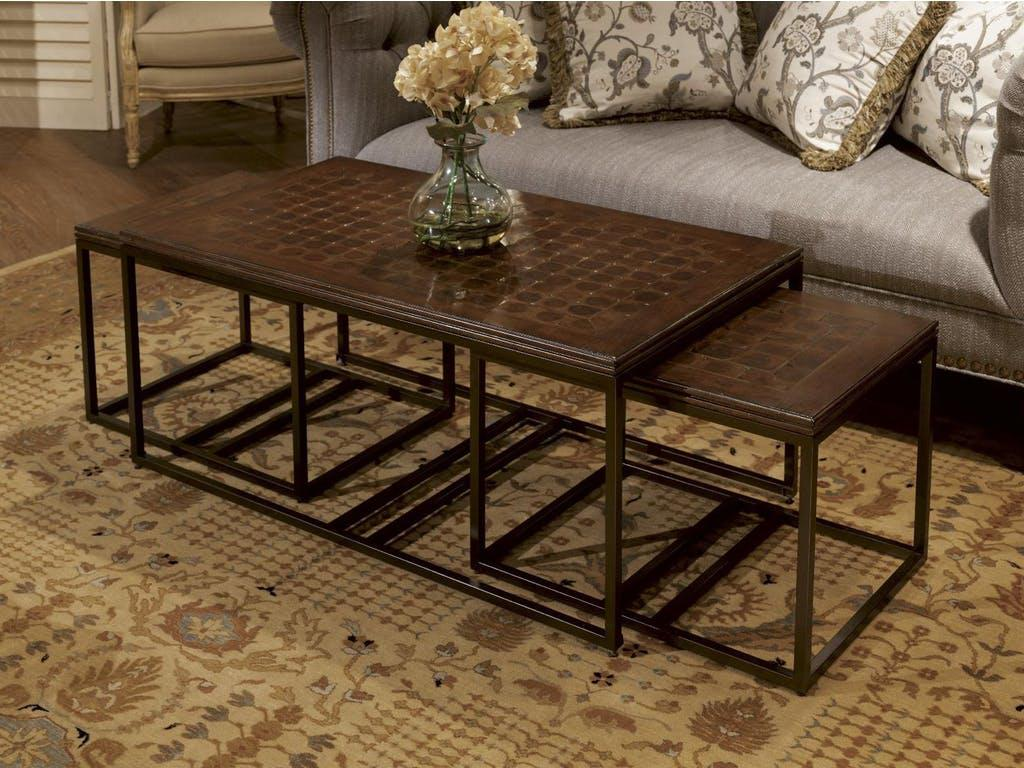 Image of: Bamboo Coffee Table Round