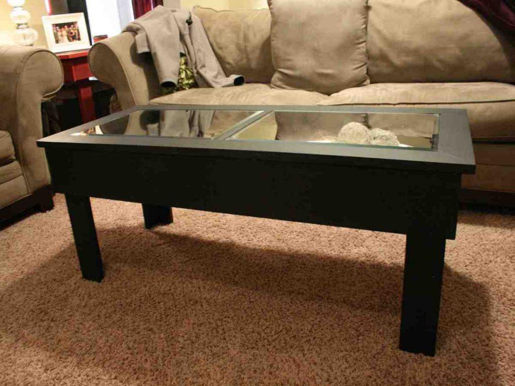 Image of: Dark Bamboo Coffee Table