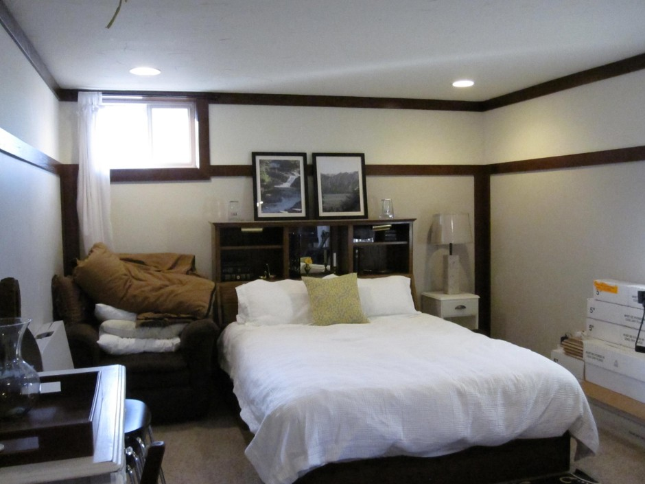 Image of: basement bedroom design ideas