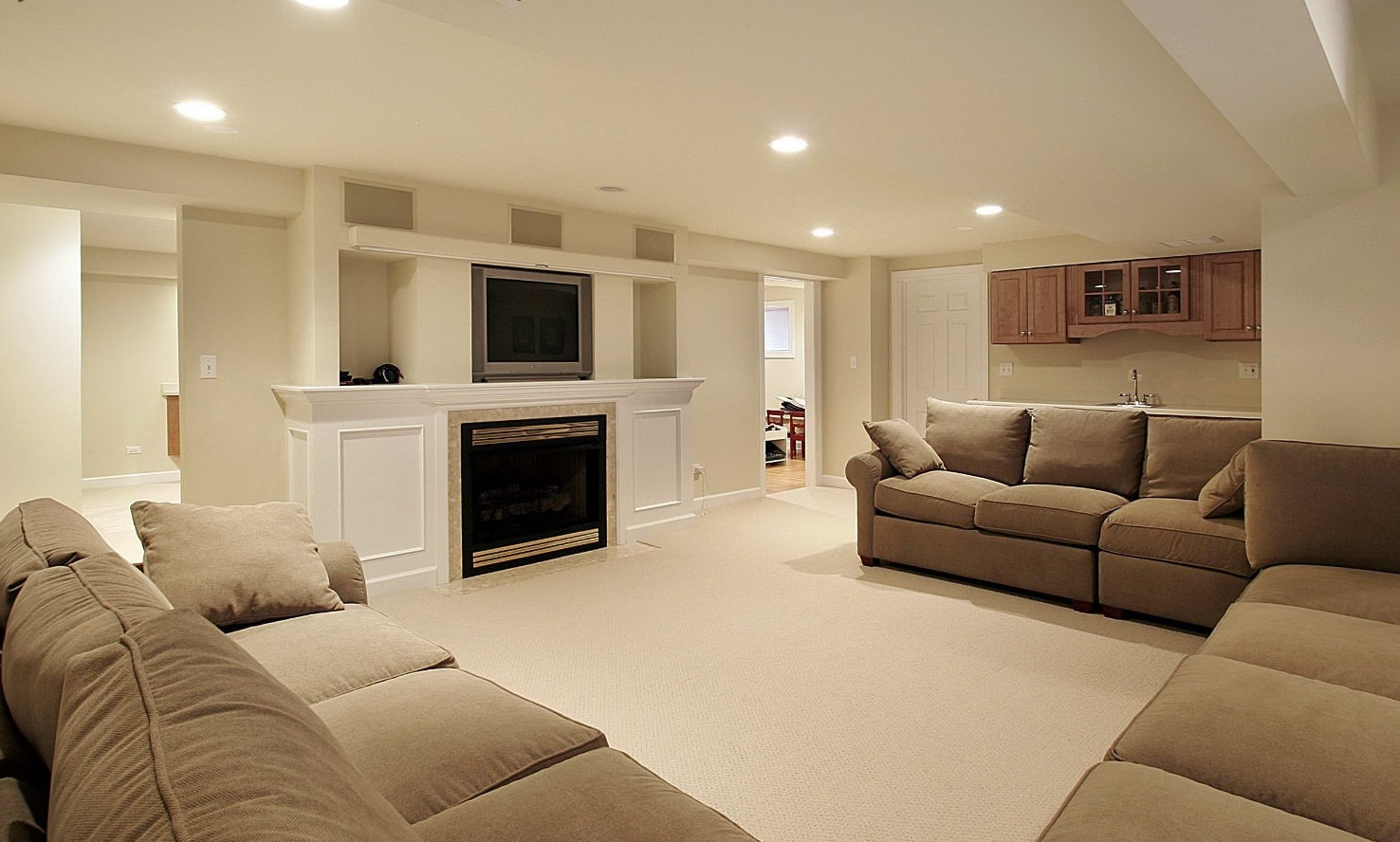 Image of: basement designs and ideas