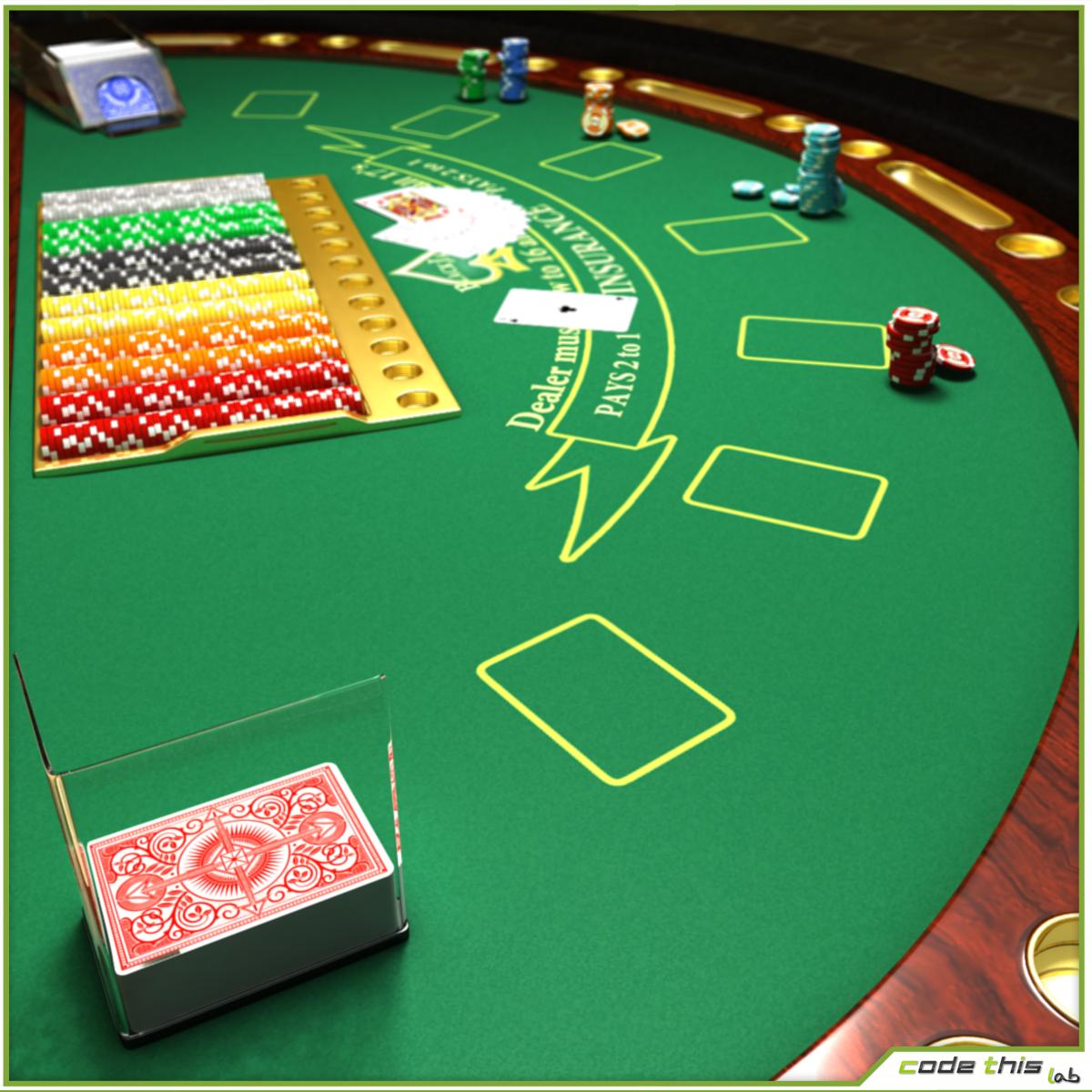 Image of: blackjack table rules
