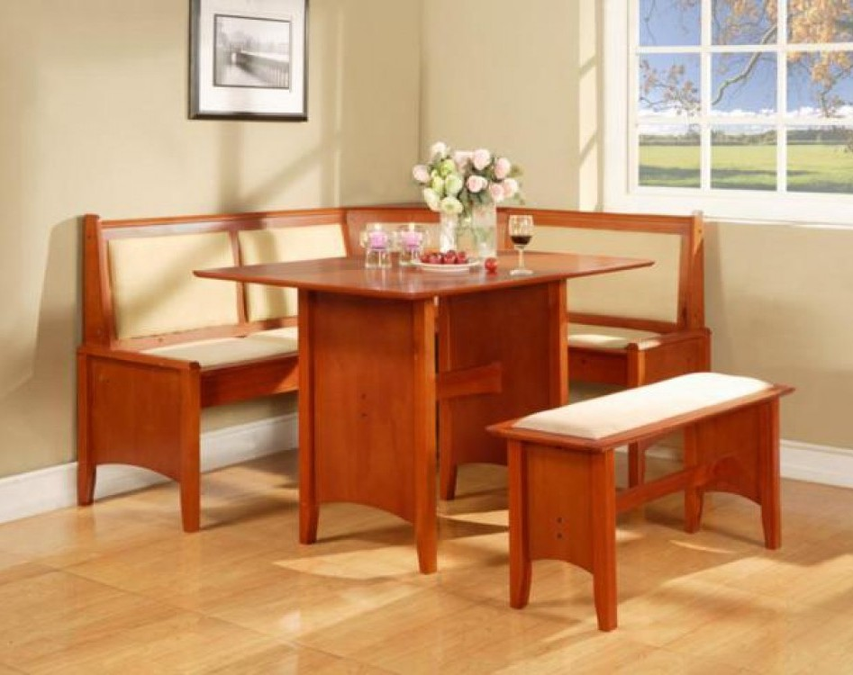 Image of: breakfast nook table set