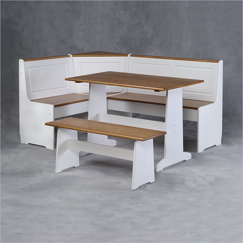 Image of: breakfast nook table with bench