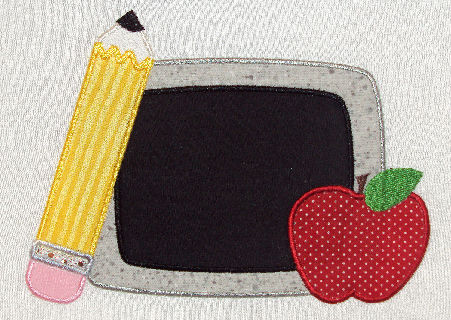chalkboard applique design