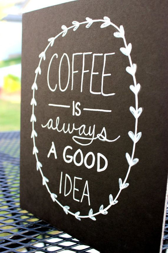 Image of: chalkboard designs for coffee shops