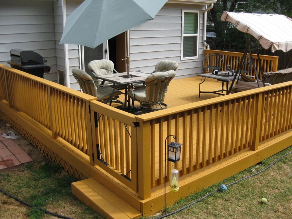 Image of: deck designs and cost