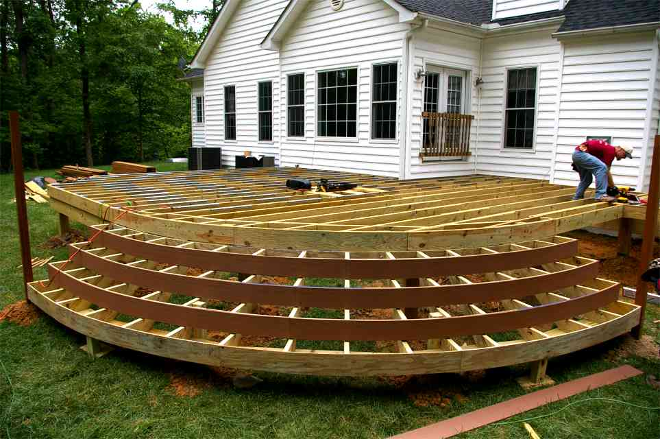 Image of: deck designs and prices