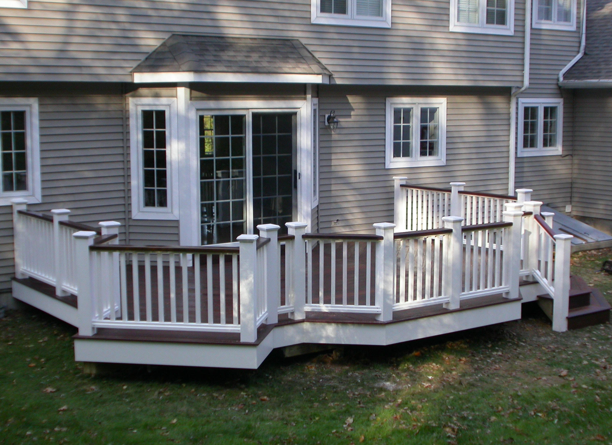 Image of: deck designs ct