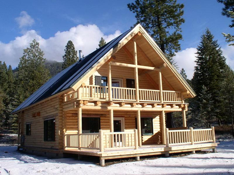 Image of: design your own log cabin