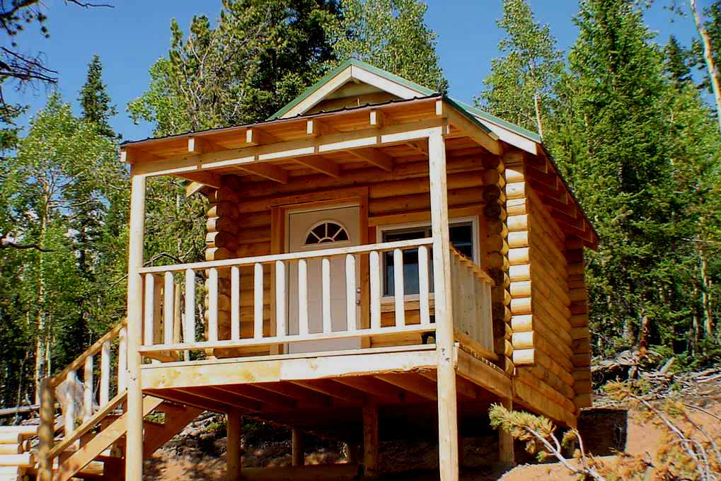 Image of: diy small cabin designs