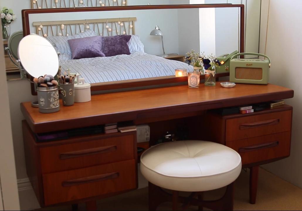 Image of: dressing table vanity set