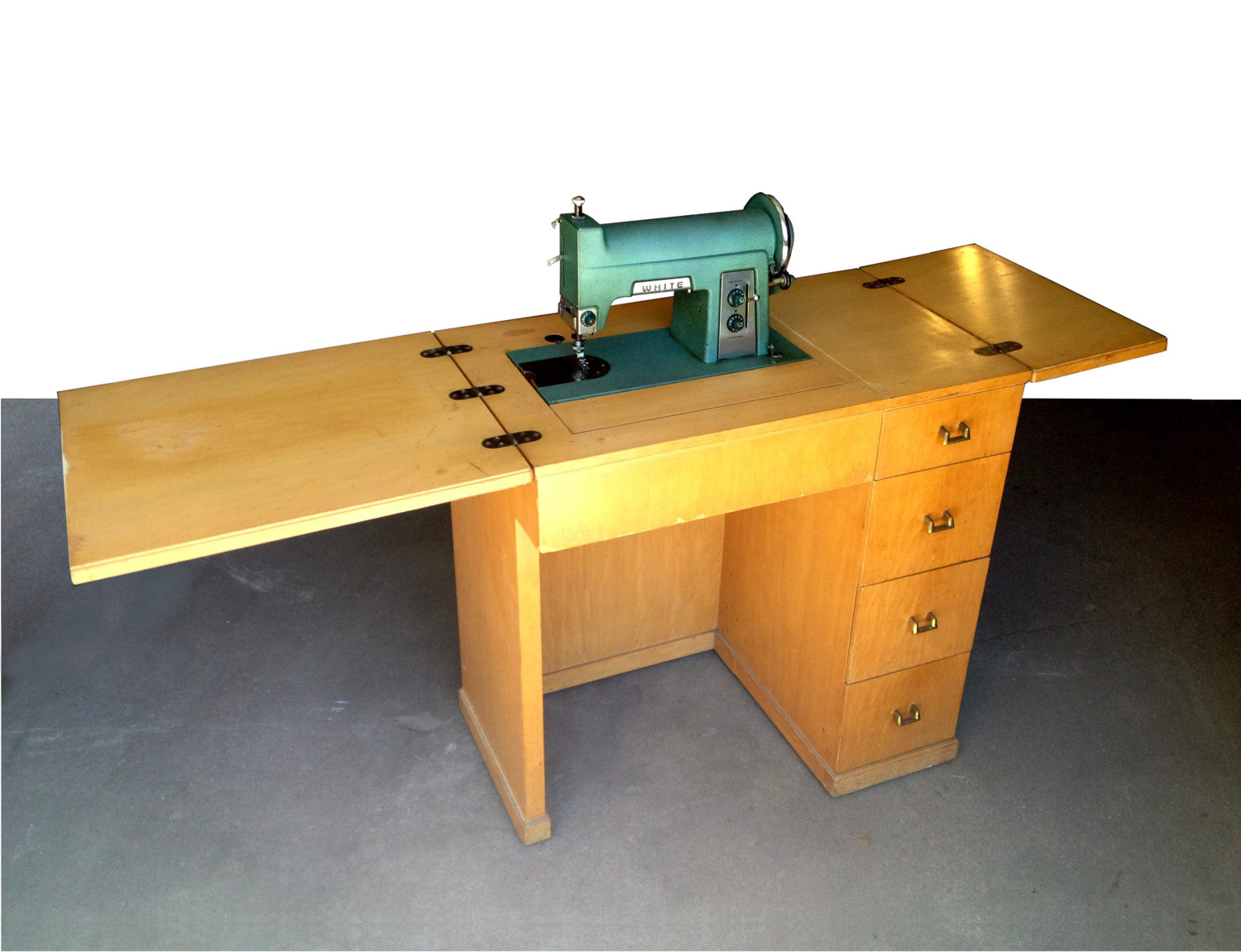 Image of: fold up sewing table