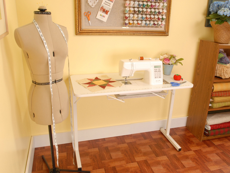 folding sewing table ikea