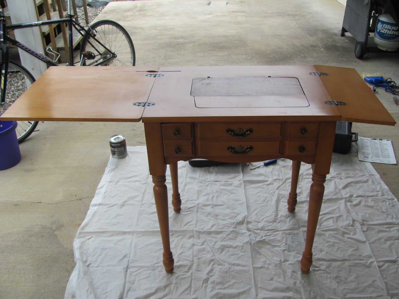 Image of: folding sewing tables