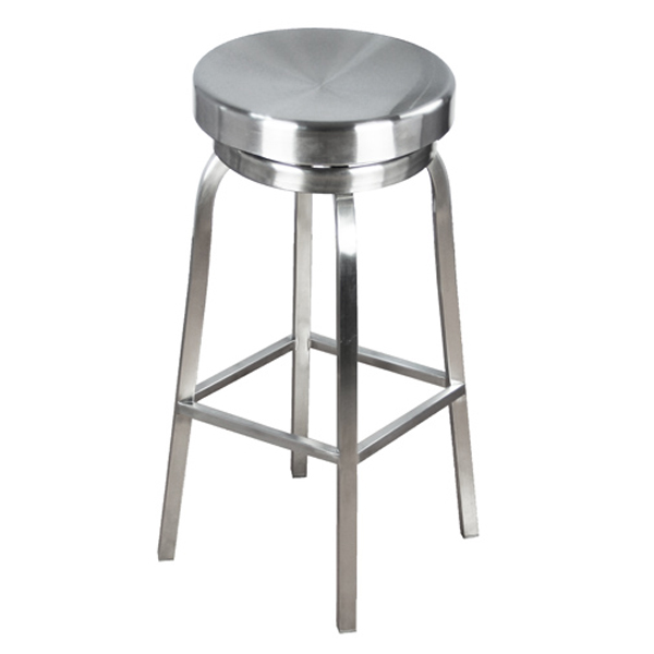 Image of: kitchen counter stools metal