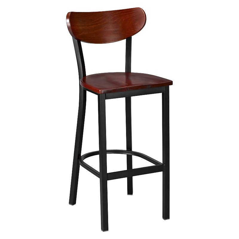 Image of: kitchen counter stools no back