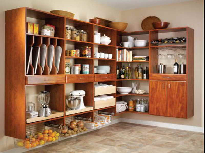 Image of: kitchen pantry cabinet ideas