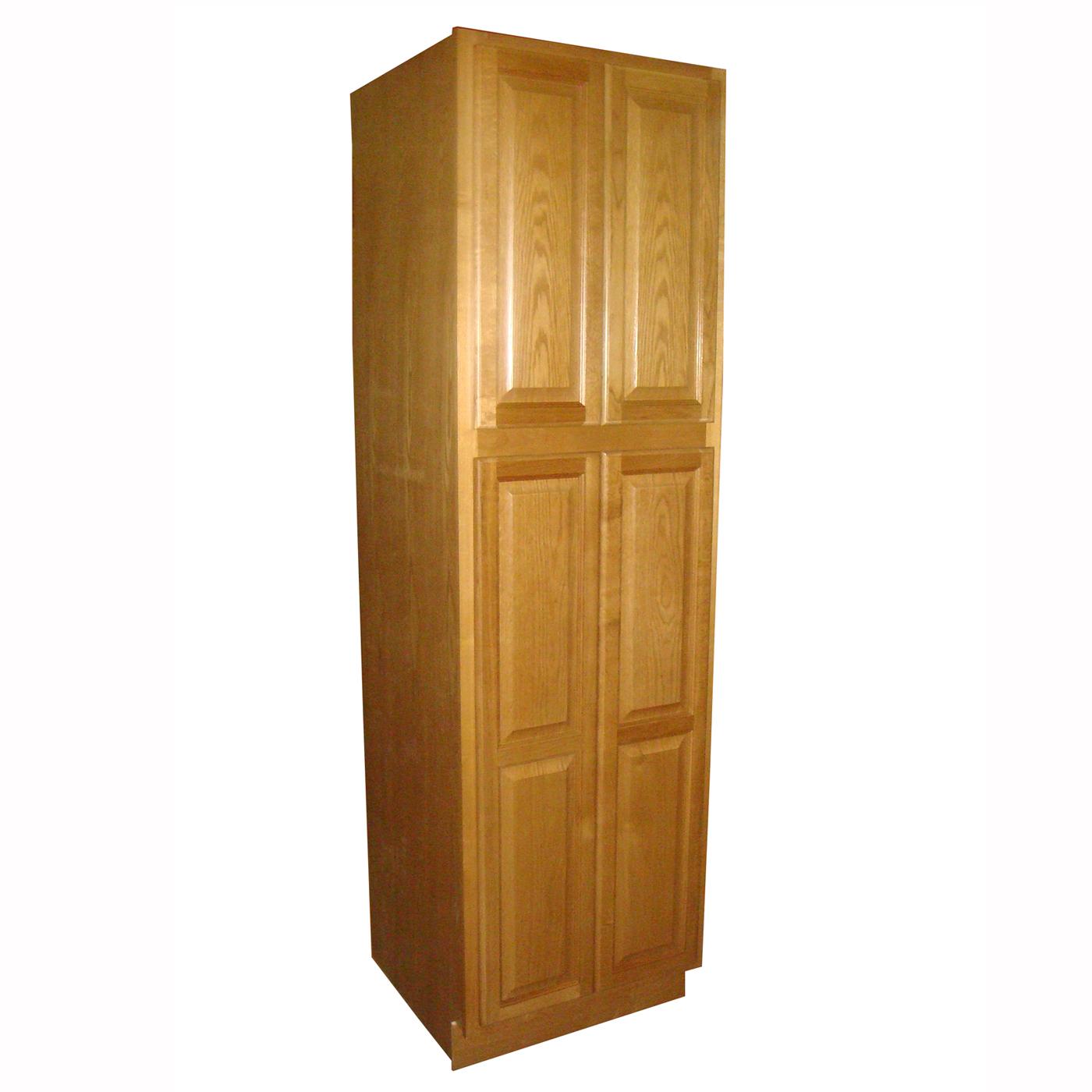kitchen pantry cabinet oak