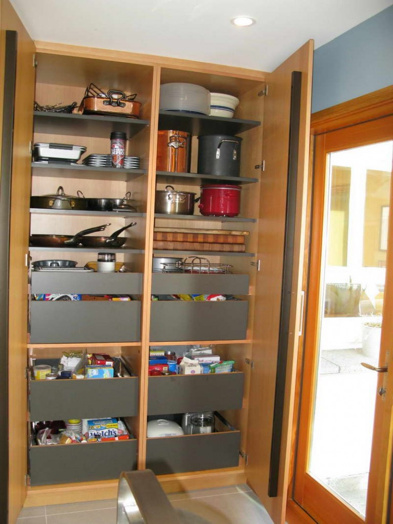 Image of: kitchen pantry cabinet plans
