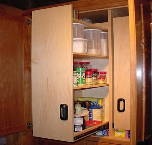 Image of: kitchen pantry cabinet small
