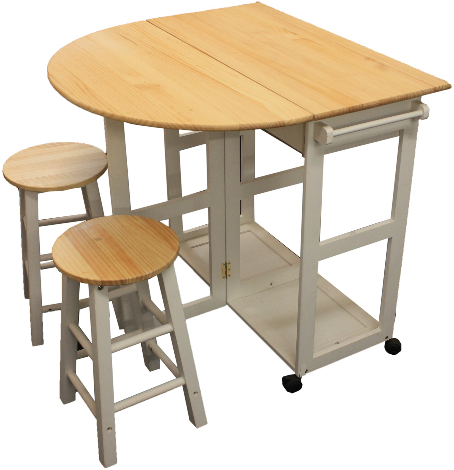 Image of: kitchen stools and table