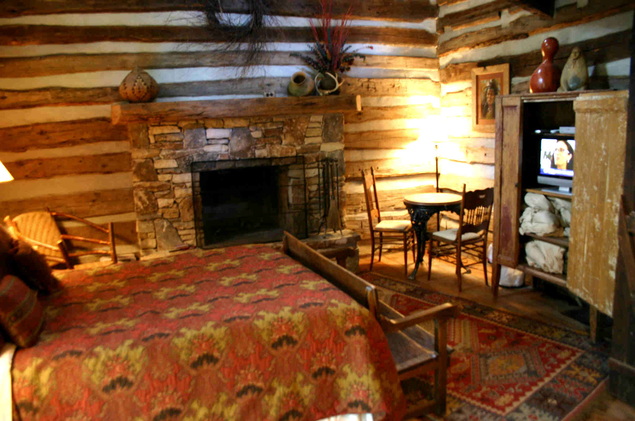 Image of: log cabin design ideas