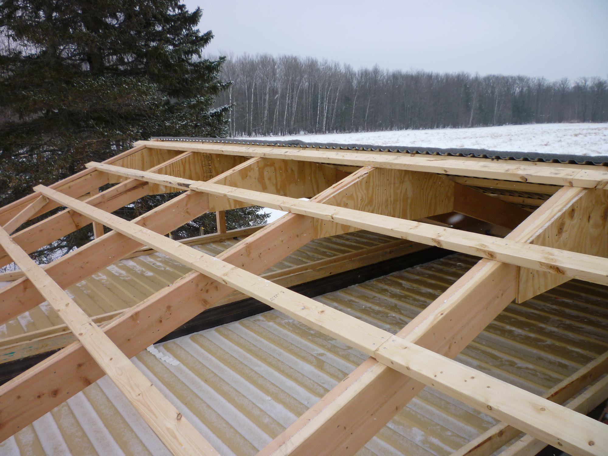 log cabin roof design