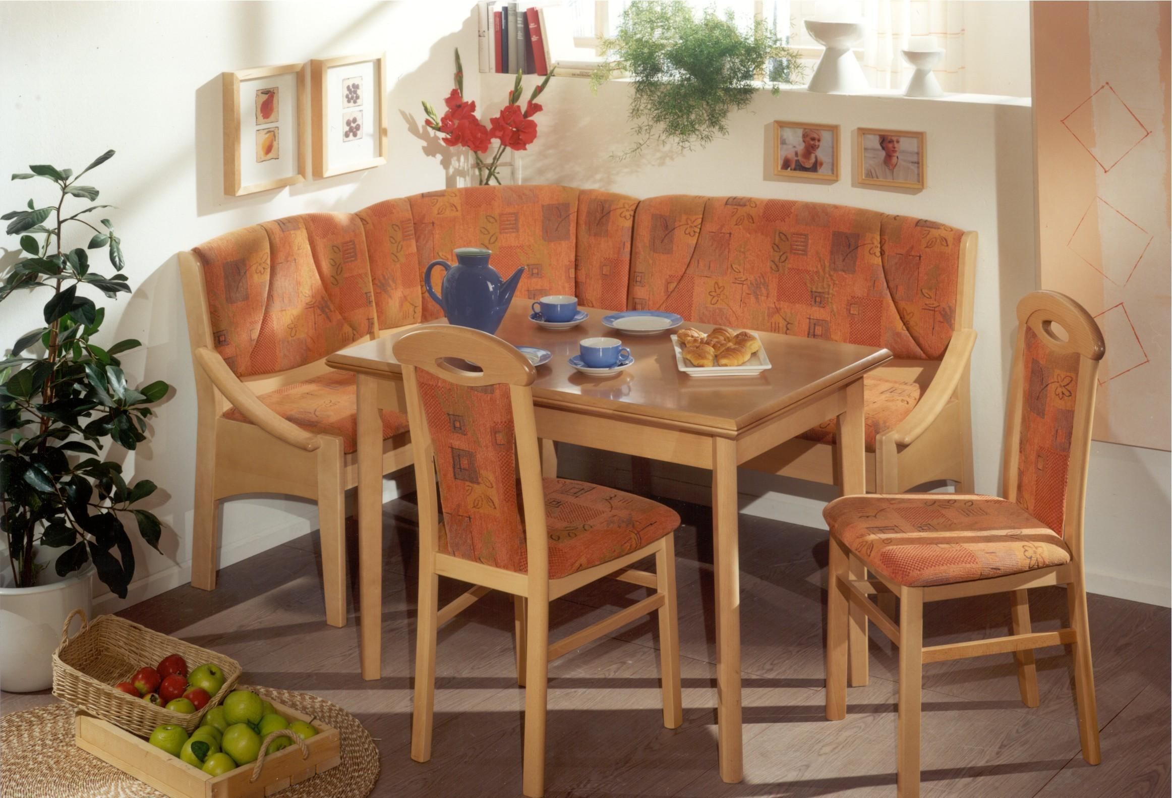 Image of: nook breakfast table