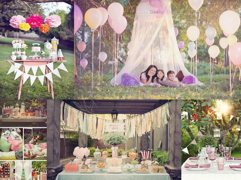 party decoration ideas at the park