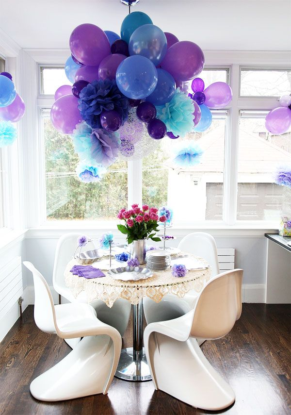 party decoration ideas balloons