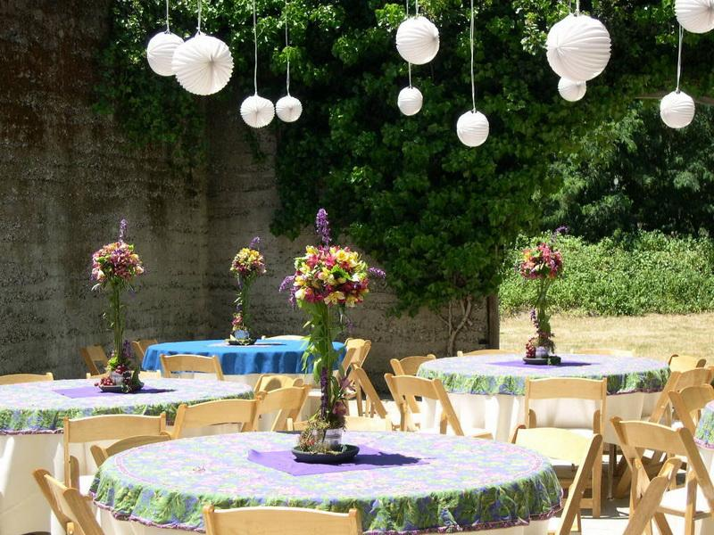 Image of: party decoration ideas outdoor
