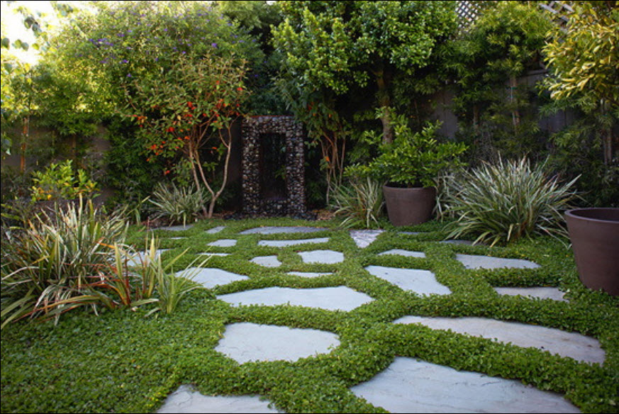 Image of: residential landscape design ideas 626