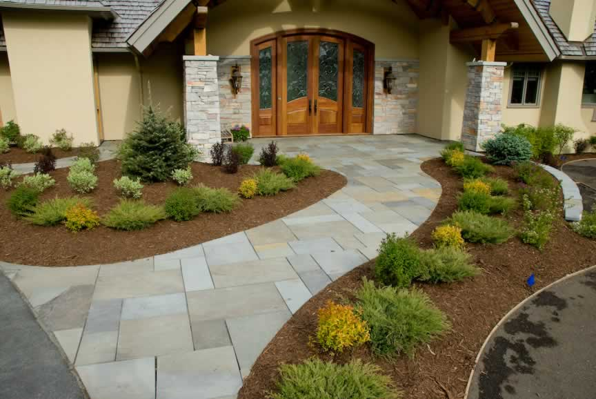 Image of: residential landscape design ideas 741