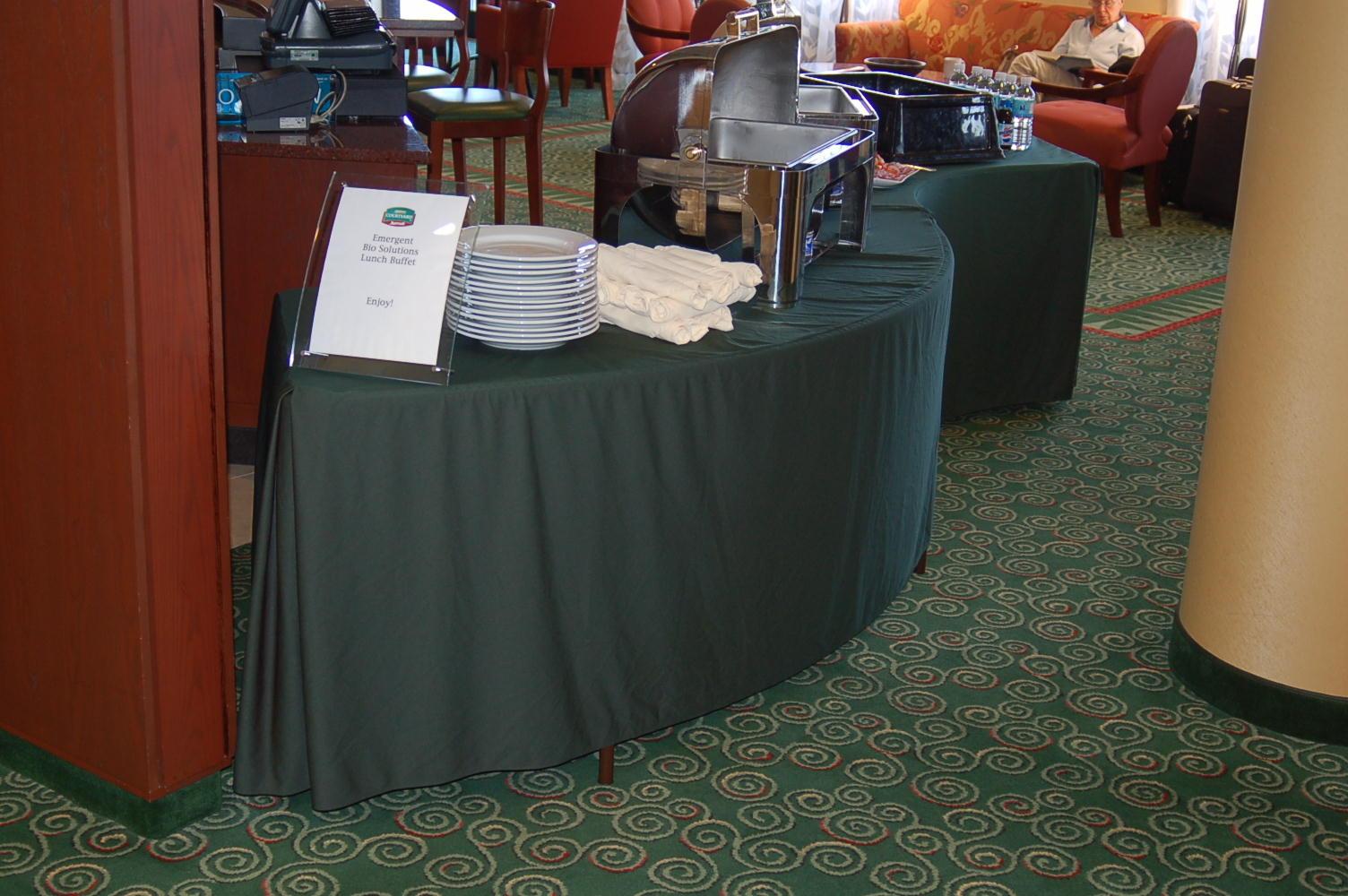 serpentine table cloth