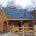 small horse barn designs