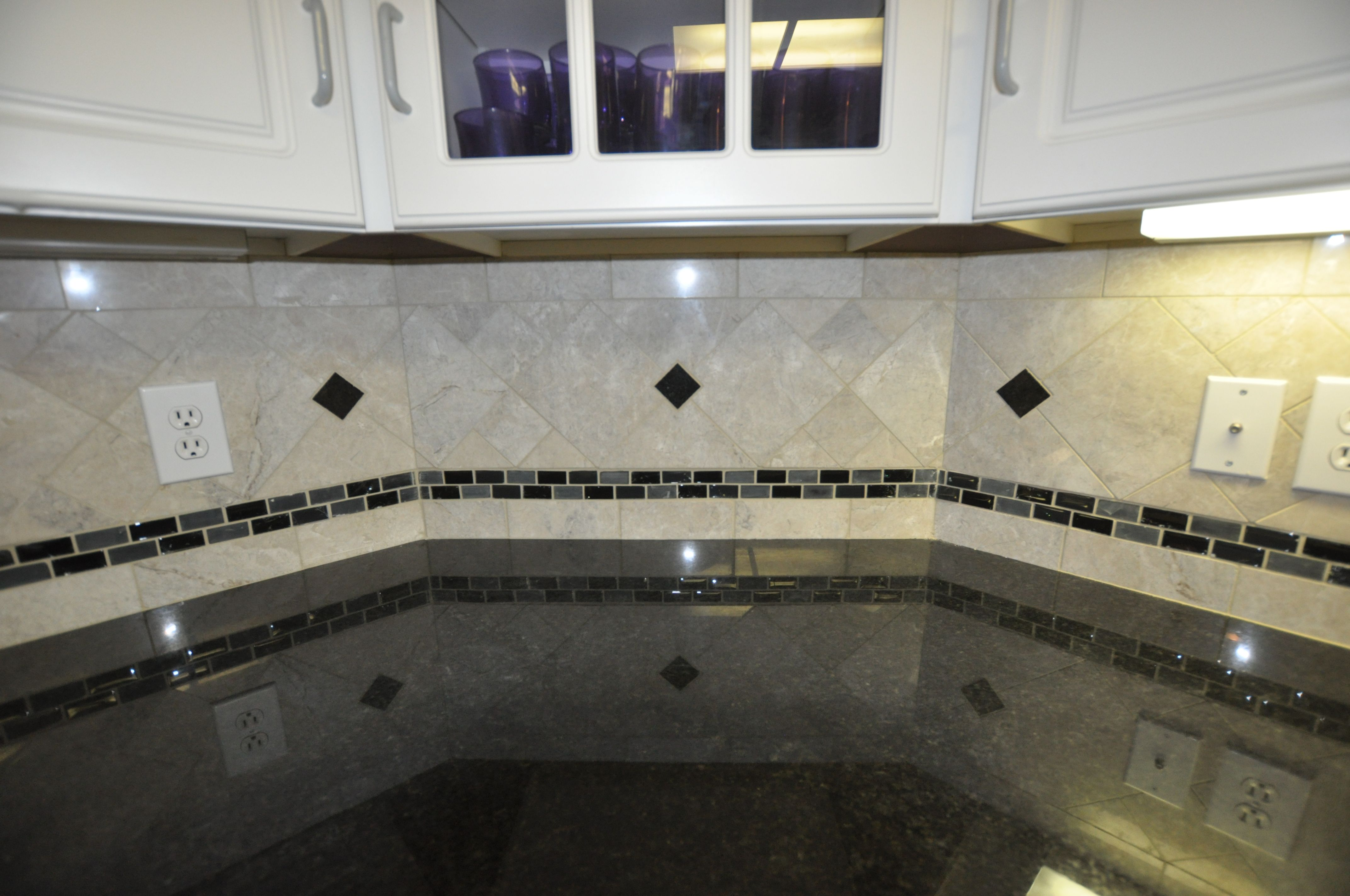 Tile Backsplash Ideas Black Granite Countertops Icmt Set Inspiring Kitchen Tile Designs