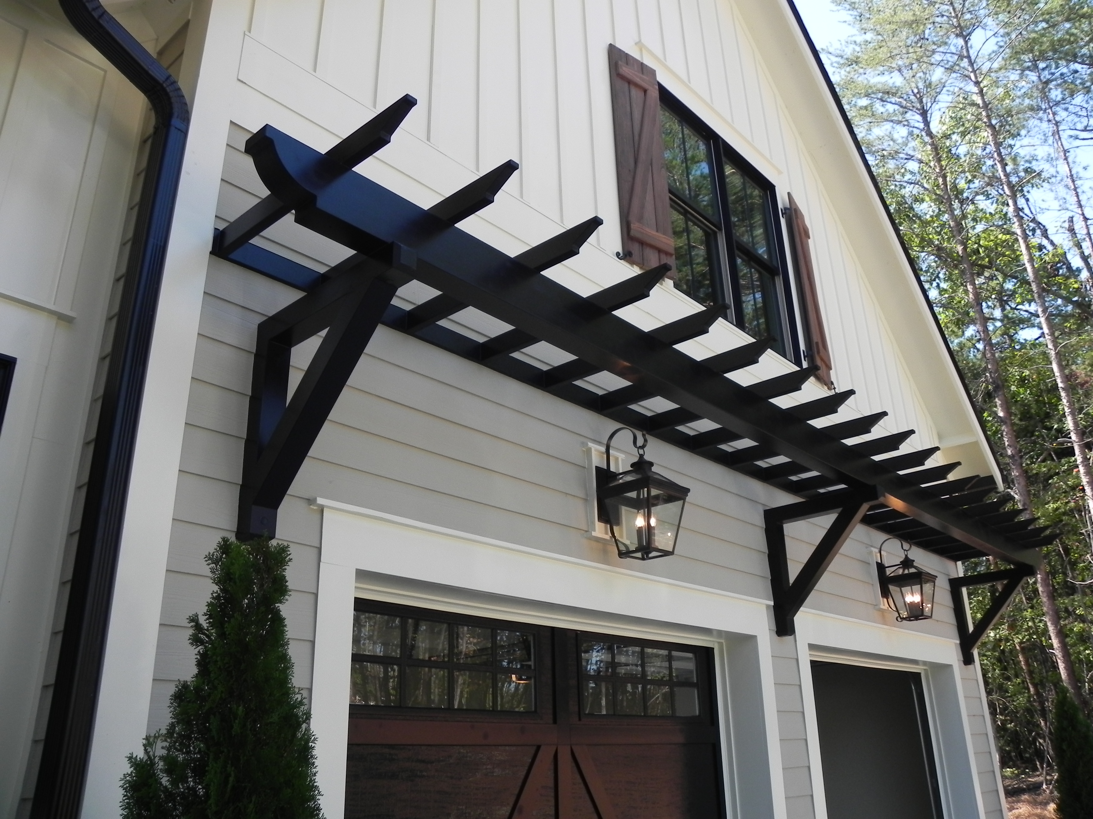 Image of: trellis bracket design
