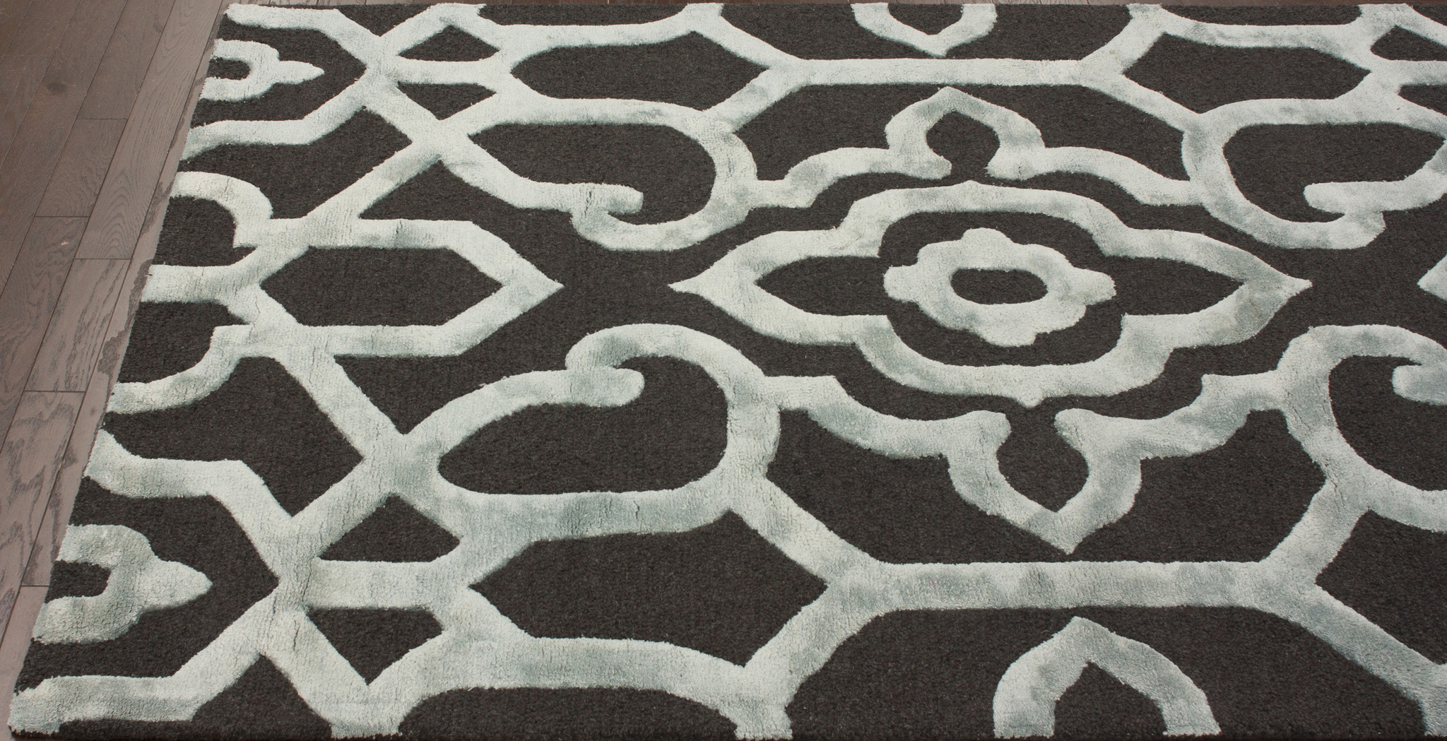 Image of: trellis design area rugs