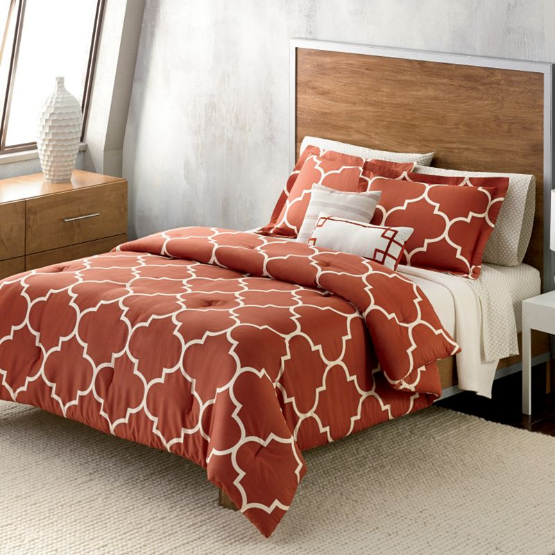 Image of: trellis design blanket