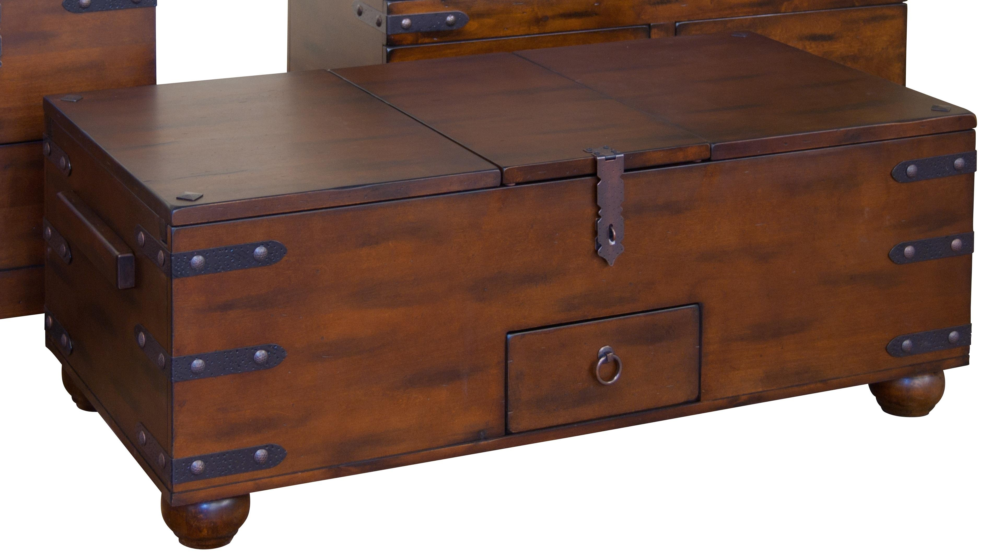 Image of: trunk coffee table