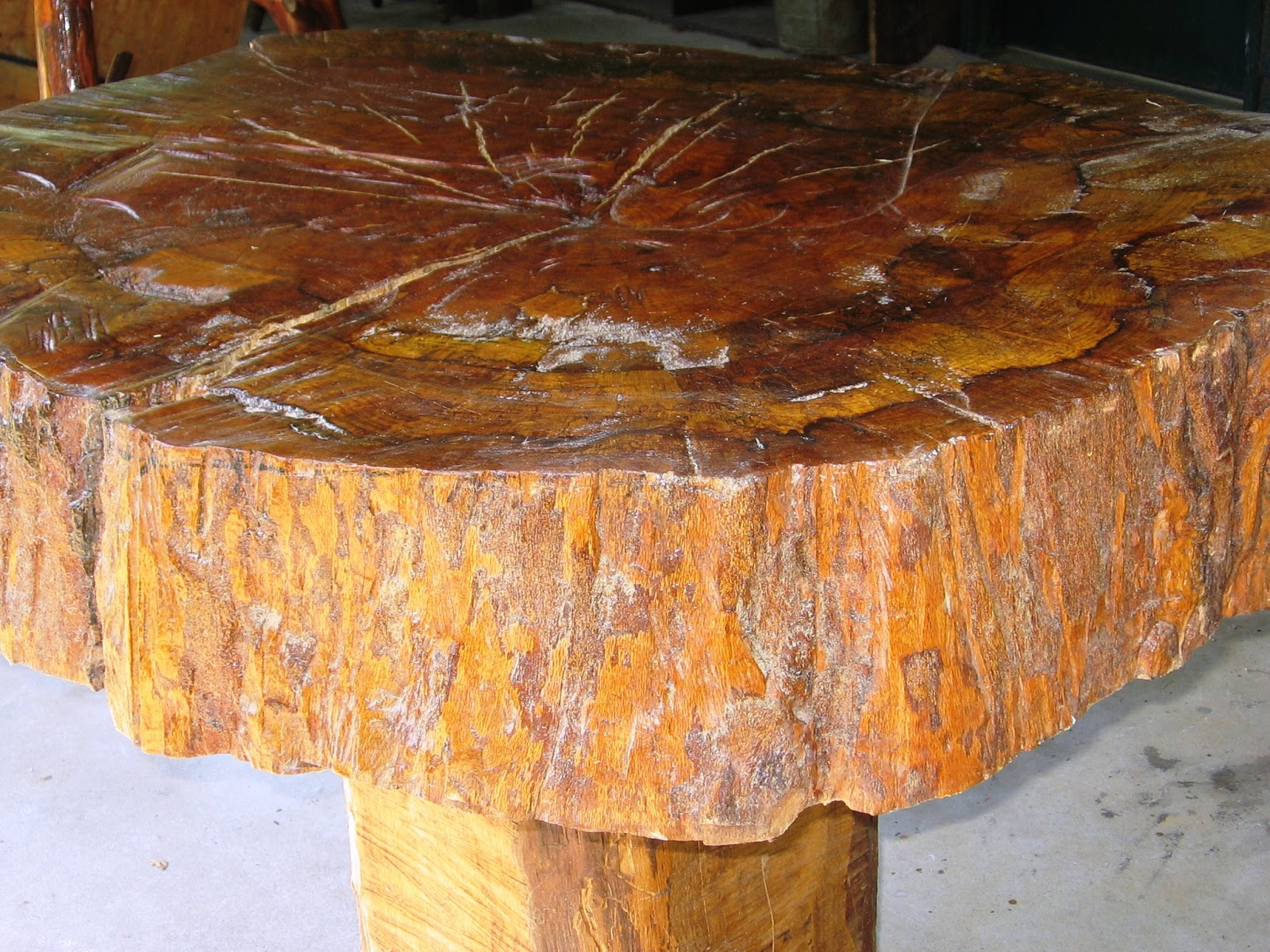 Image of: trunk style coffee table
