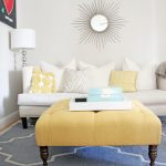 tufted round ottoman coffee table