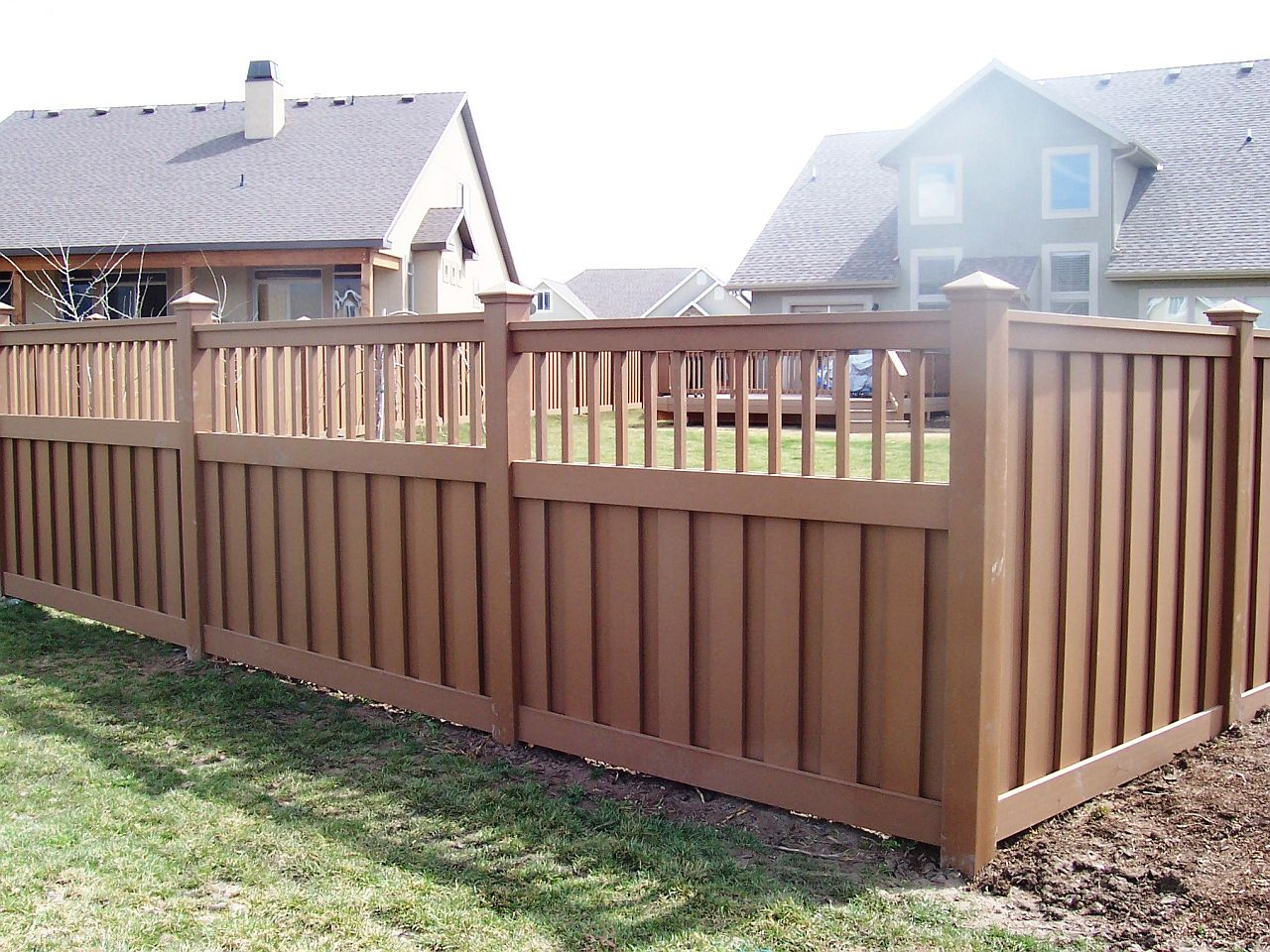 wood fence designs ideas
