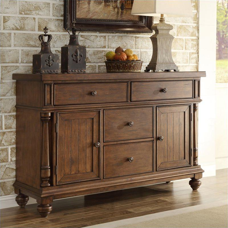 Image of: antique buffet table prices