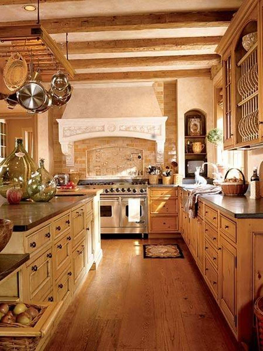Image of: authentic italian kitchens