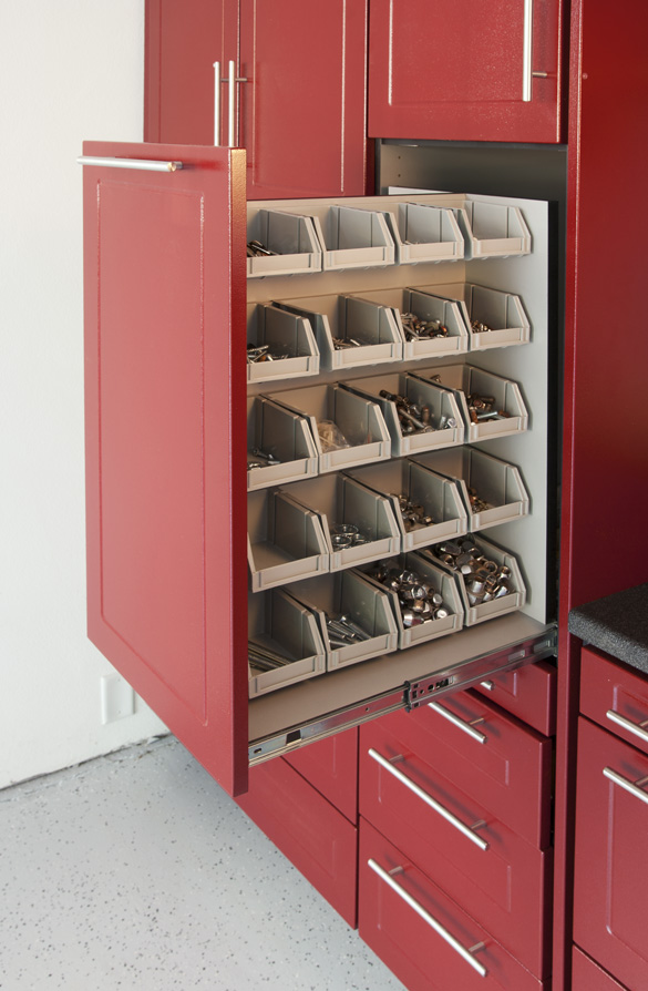 Image of: automotive garage storage ideas