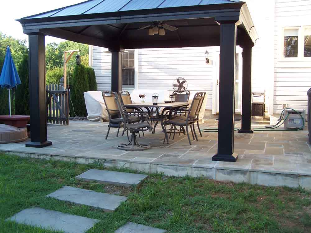Image of: backyard gazebo designs