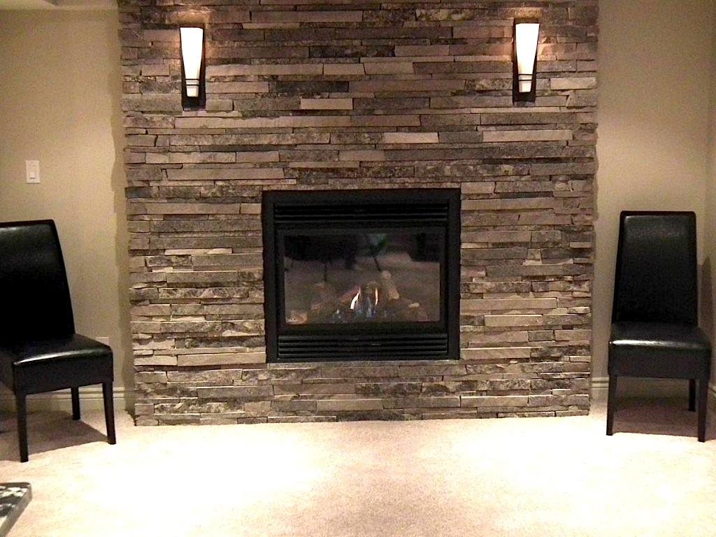 basement corner fireplace designs
